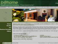 Be@home - Website Design by Mc Designs